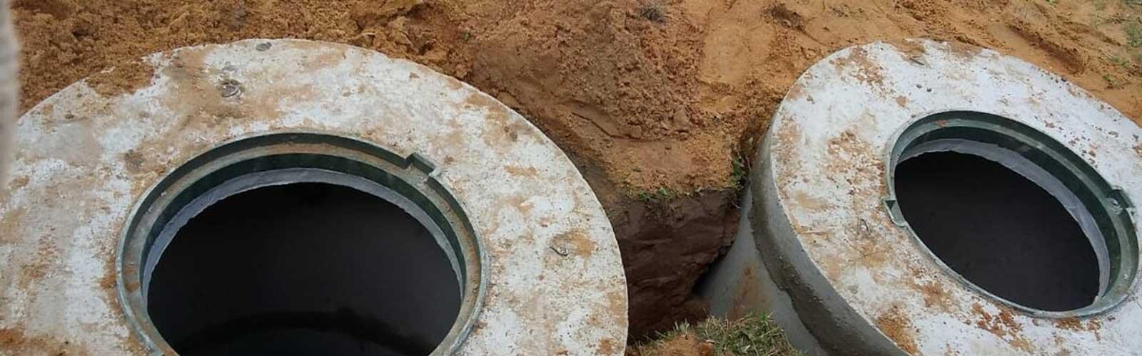 расчет количества колец и объема септика в Самарской области под ключ, копка и строительство